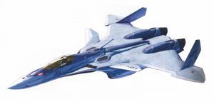 VF-31B Kairos II-Fighter mode