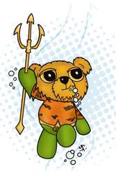 Aquaman Teddy Bear