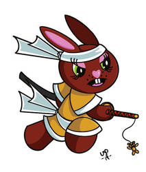 Samurai Bunny