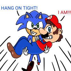 Hang on tight