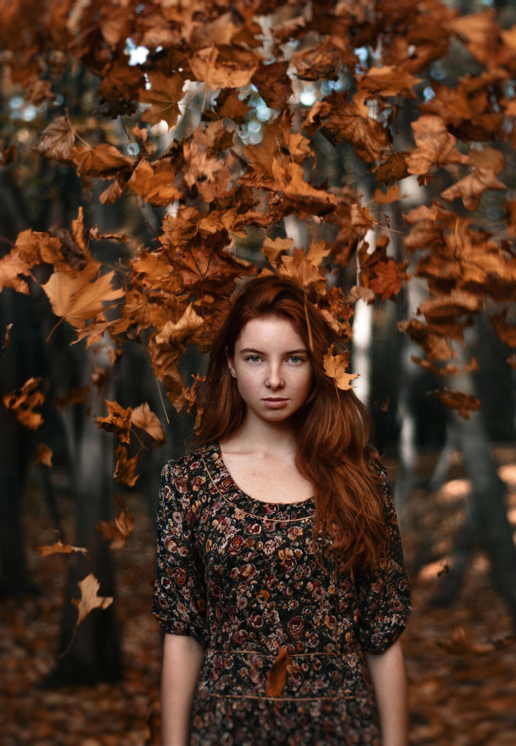 Hello, Autumn! by umkaUlibaka