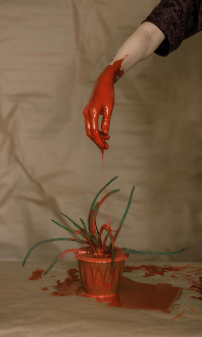 Rootless. Red hand by umkaUlibaka