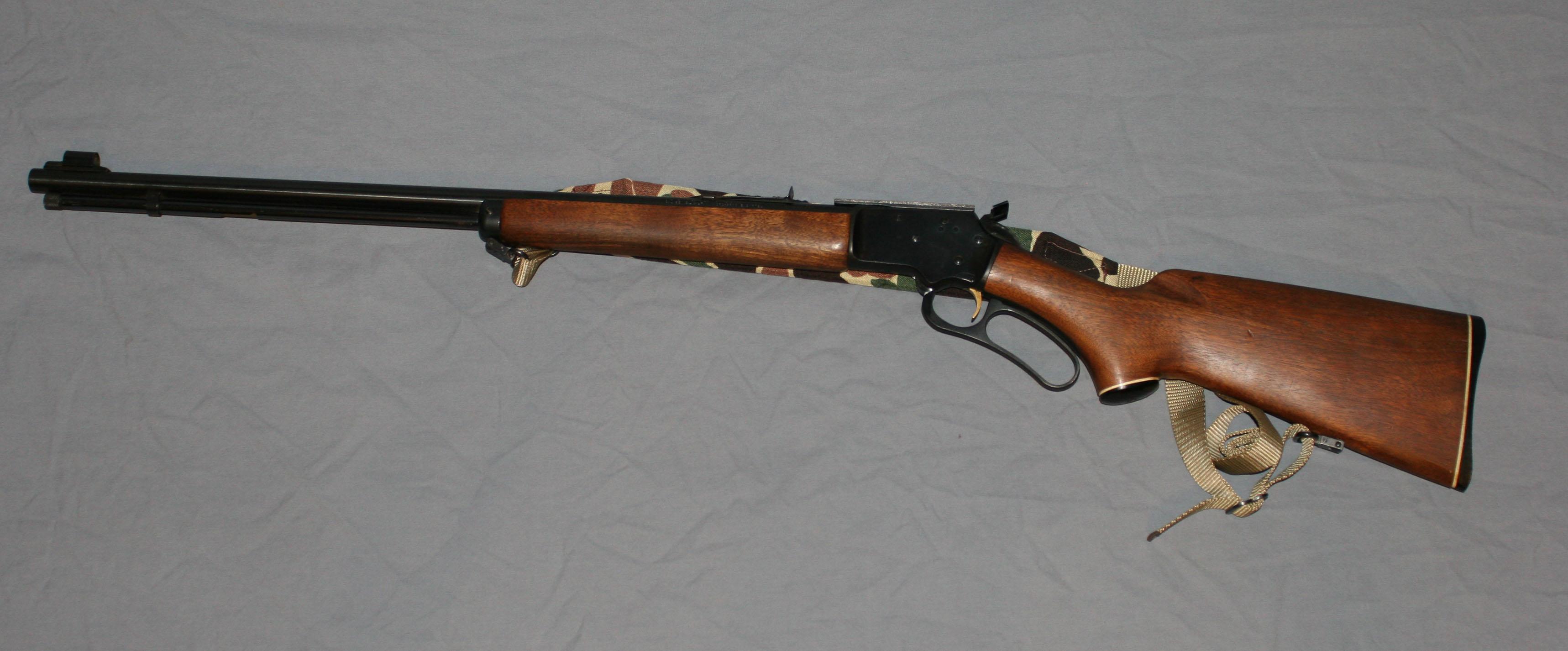 "BackPacker ""Lite"" – Marlin 39A – Grizzly Custom Guns"