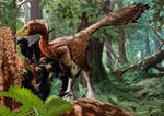 Troodons Tool using dinosaurs