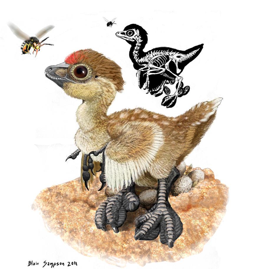 Water loving raptor dinosaur by Psithyrus