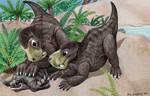 Paleo Buddies 3, Gorgonopsid puppies