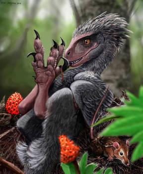 When Chickens Ruled: raptor dinosaur
