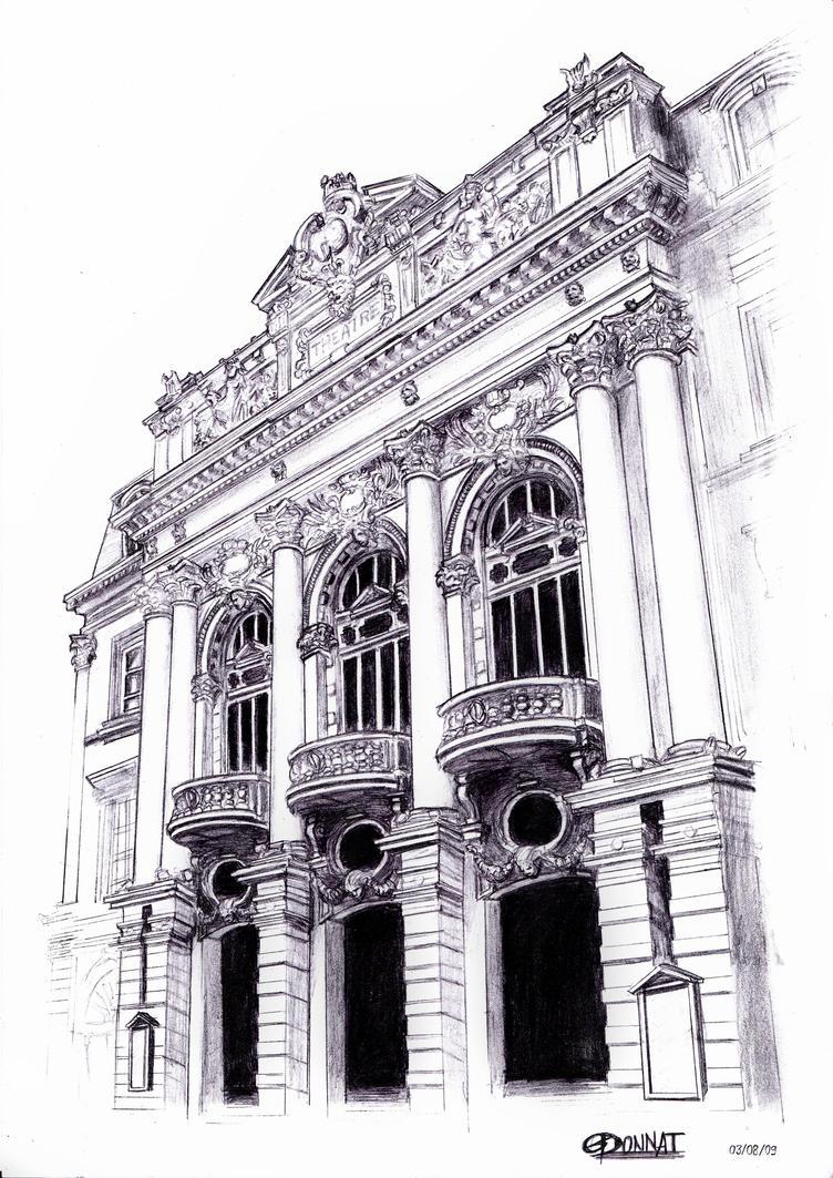 Clermont-Ferrand Theater by SchizoGoines