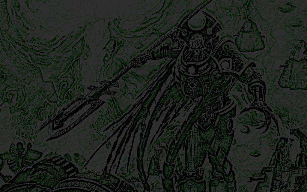 Necrons Wallpaper Edit by Bolt-Dealer