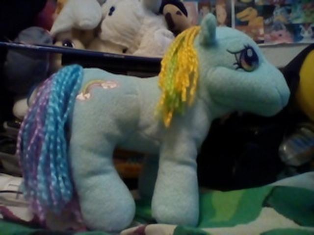My Little Pony G3 Rainbow Dash Plush by AgentJeiceMIB24
