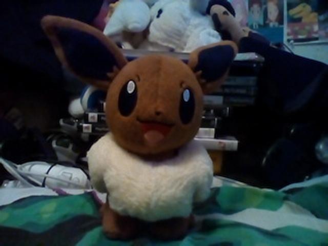 Eevee Pokemon Plush by AgentJeiceMIB24