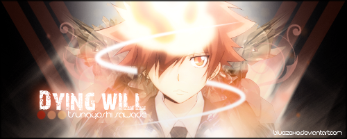 My Message Dying_will___tsuna_sawada_by_bluezexe-d3ghbor