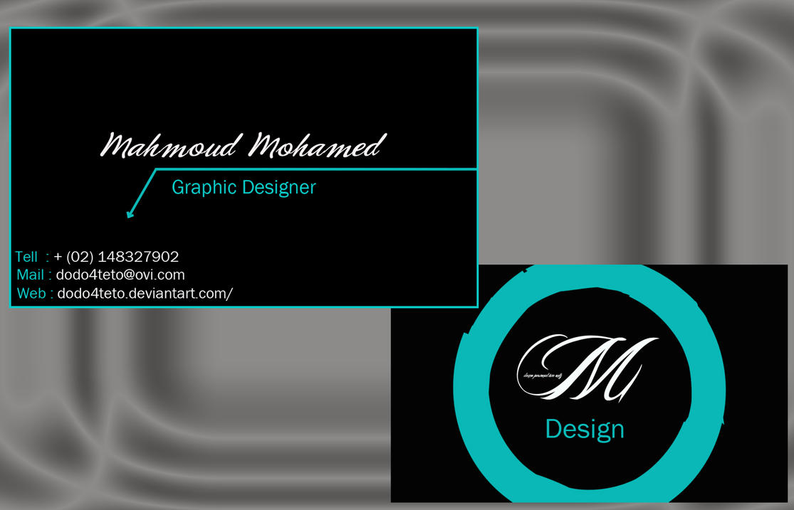 personal business card samples - Pertamini.co