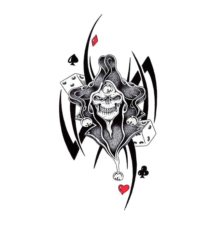Dark Jester by Stark-Sketches on DeviantArt