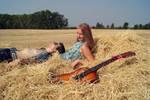 Hippie - II by Girl-From-Mezzanine