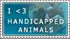 Handicapped Animal Stamp by Saintbirdy
