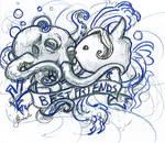 Octopus n Mola Mola