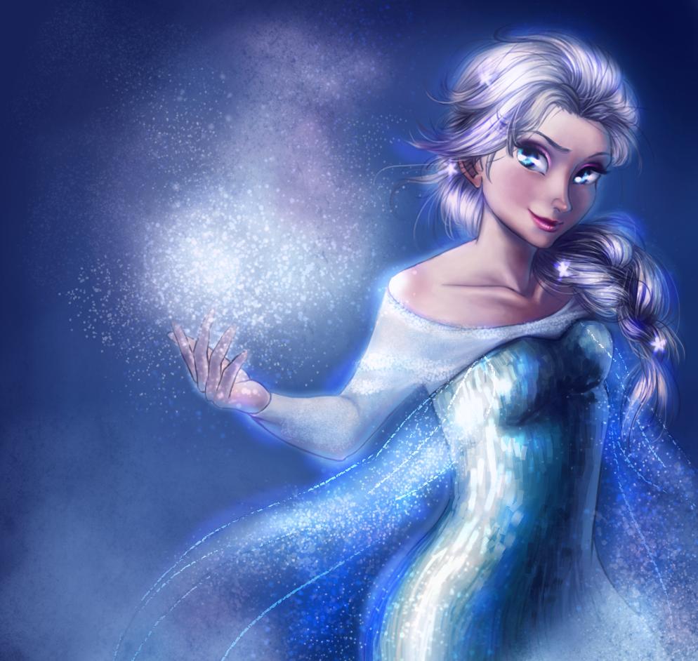 Frozen Elsa by KuroRime