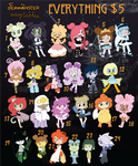 Femmonster Adoptables LIMITED-TIME HALLOWEEN SALE