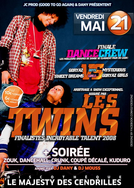 Les Twins Flyer by gar21nett