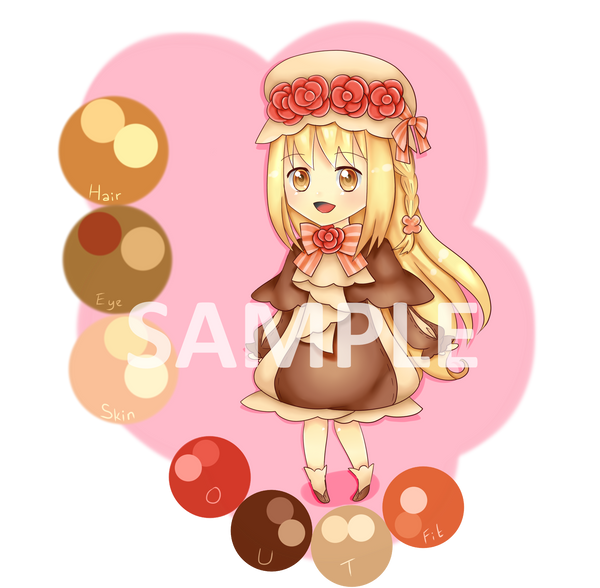 Adoptable 5 Sweet Choco (OPEN) by Megane-chi