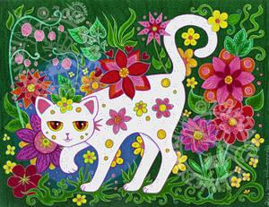 Cat by Myrret