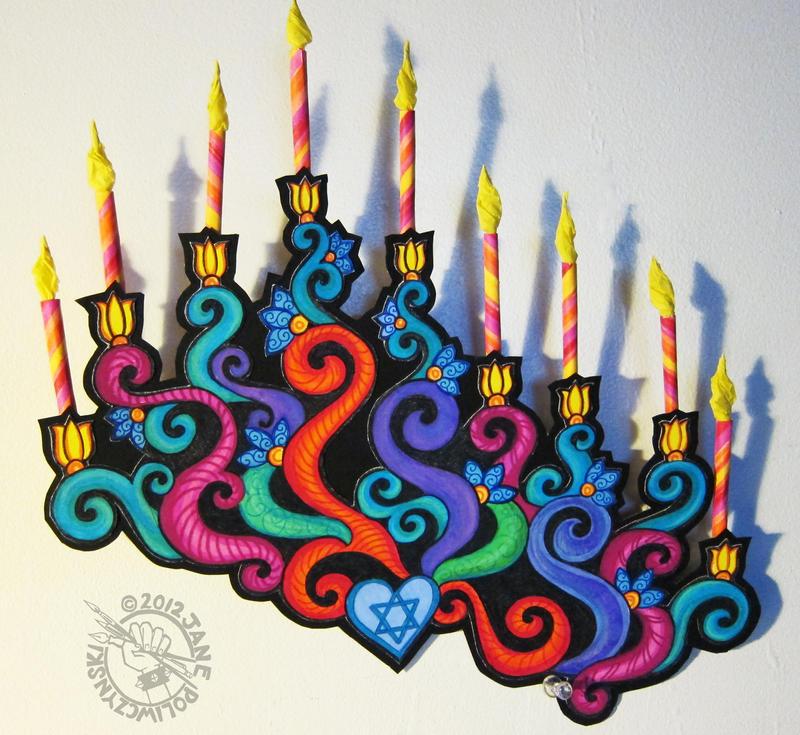 Happy Hanukkah by Myrret