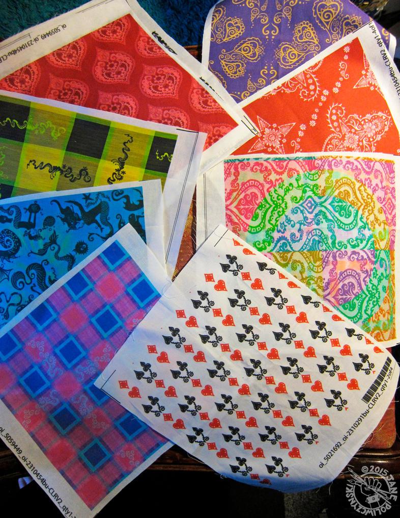 My Fabric Samples by Myrret