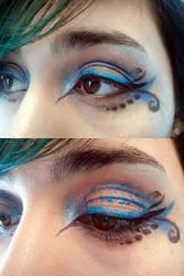 Blue Hummingbird by MiasmaMelody