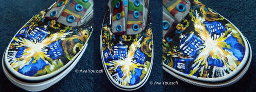 Doctor Who Shoes (3) by MiasmaMelody