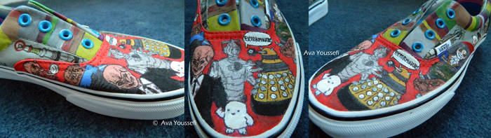 Doctor Who Shoes (4) by MiasmaMelody