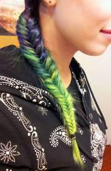 Fishtail braid by MiasmaMelody