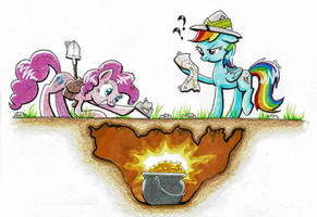 Request - Treasure Hunting by Helmie-D