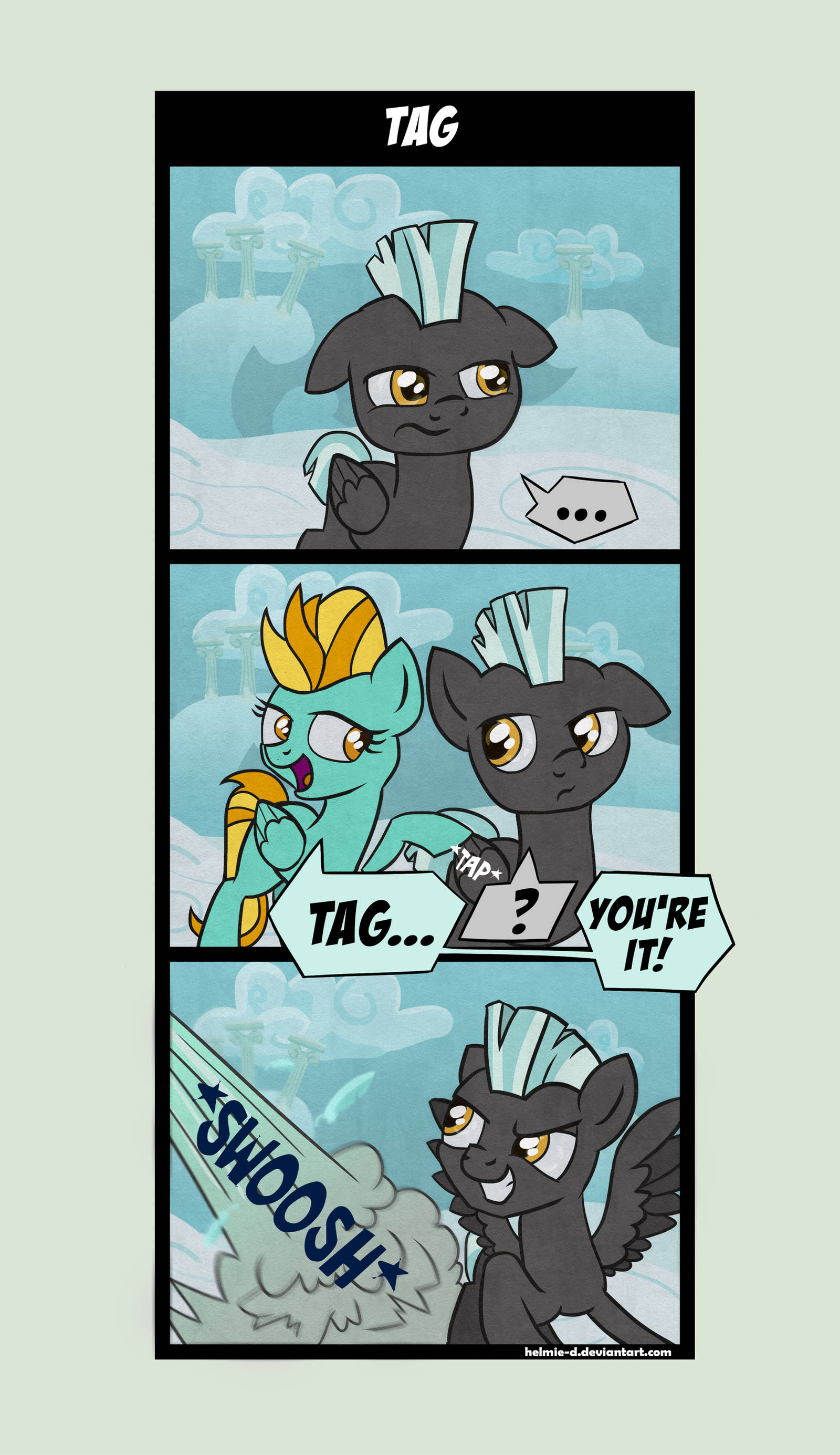 Comic - Tag... by Helmie-D