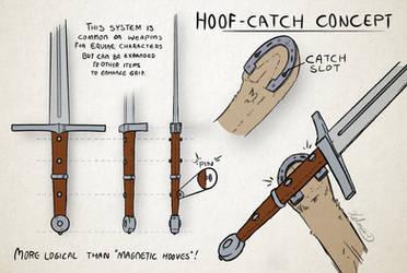 Concept - Hoof-catch