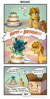 Comic - Batcake