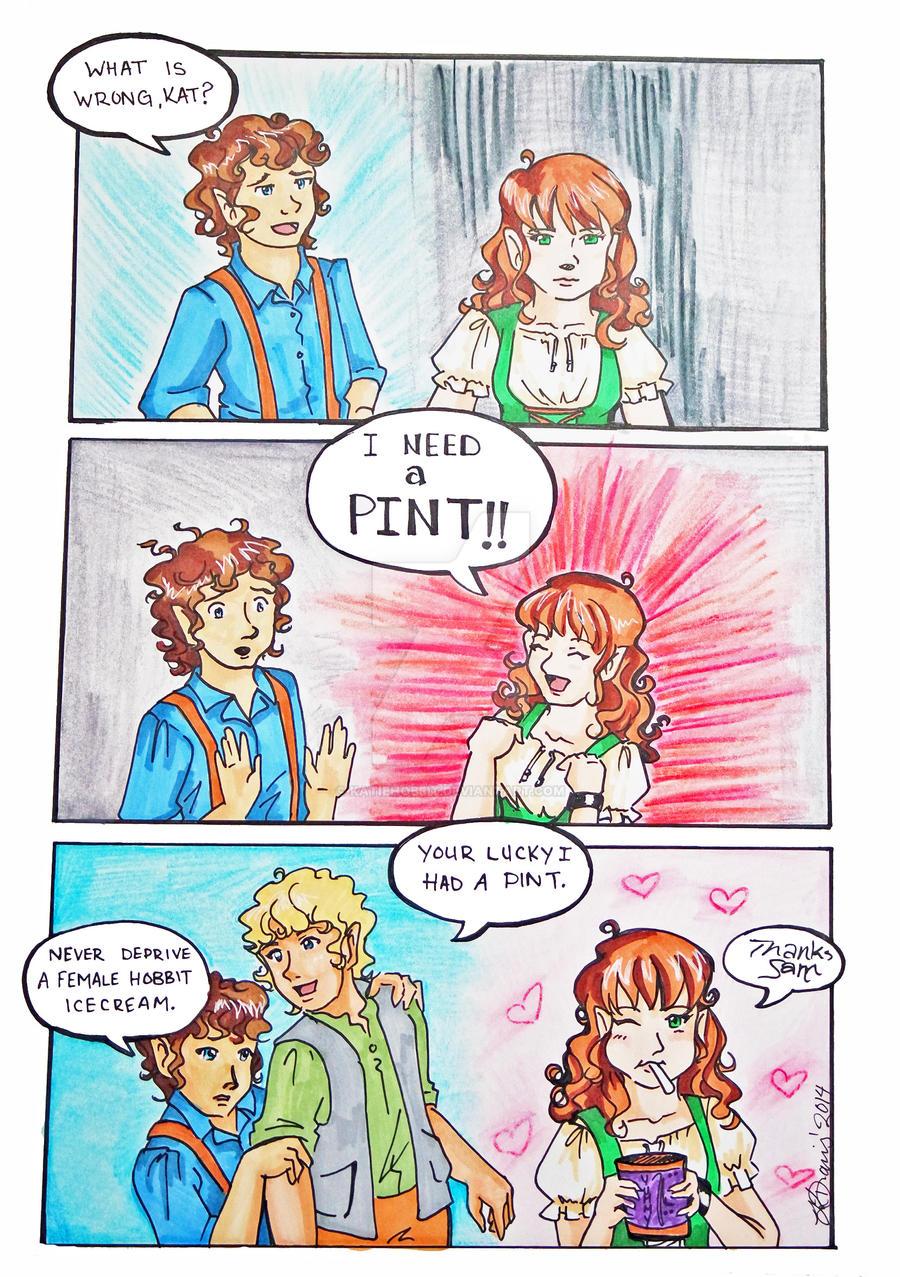 PINT for hobbit by KatieHobbit