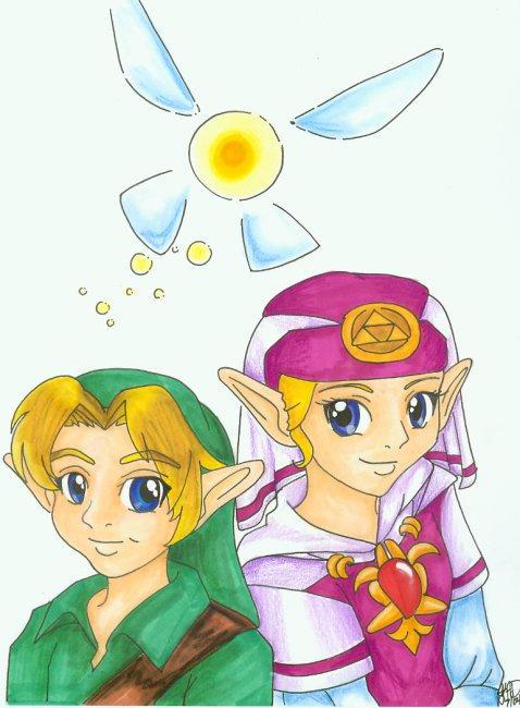 Final Zelda Project by KatieHobbit