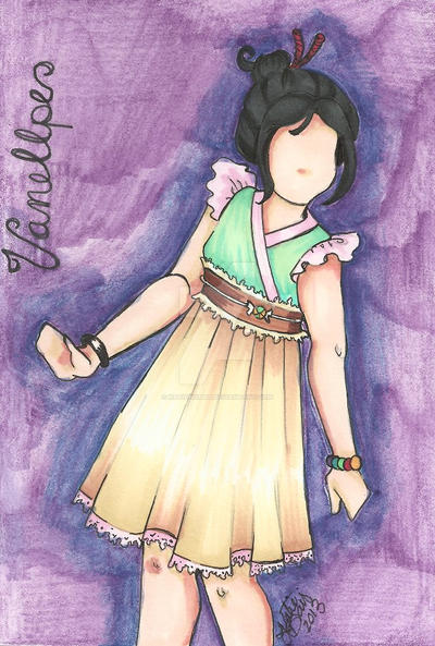 Vanellope Von Sweet by hobbit-katie