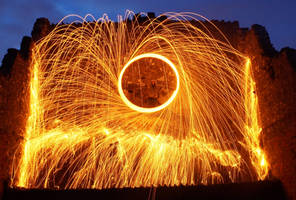 Wire wool spinning by hayleyonfire