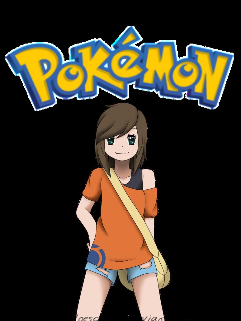Pokemon OC Kaede [Kylie] by littleloeschi245