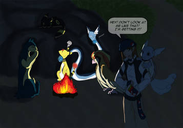 The Sinnoh Night by SilentCartoon