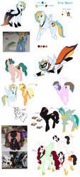 The Big Pony Dump by SilentCartoon