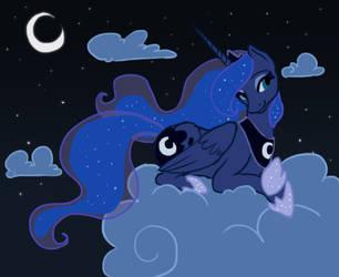 Fanart - Princess of the Night by SilentCartoon