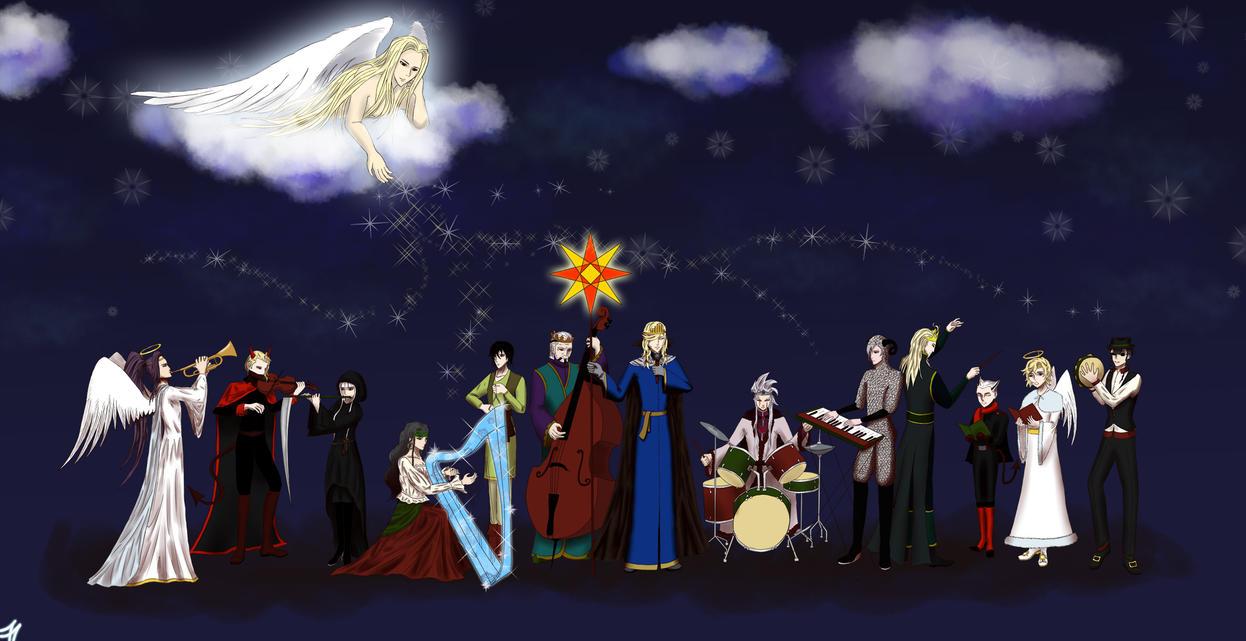 Noblesse Zodiac Vertep by Moontessa