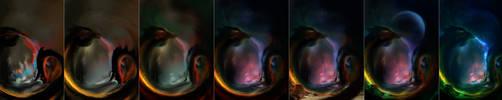 Hydra Nights steps by Faei