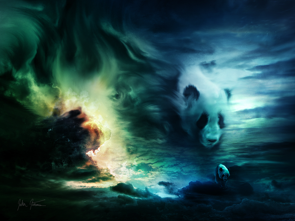 Panda Nights by Faei