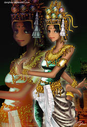 Khmer Girl by Danghieu