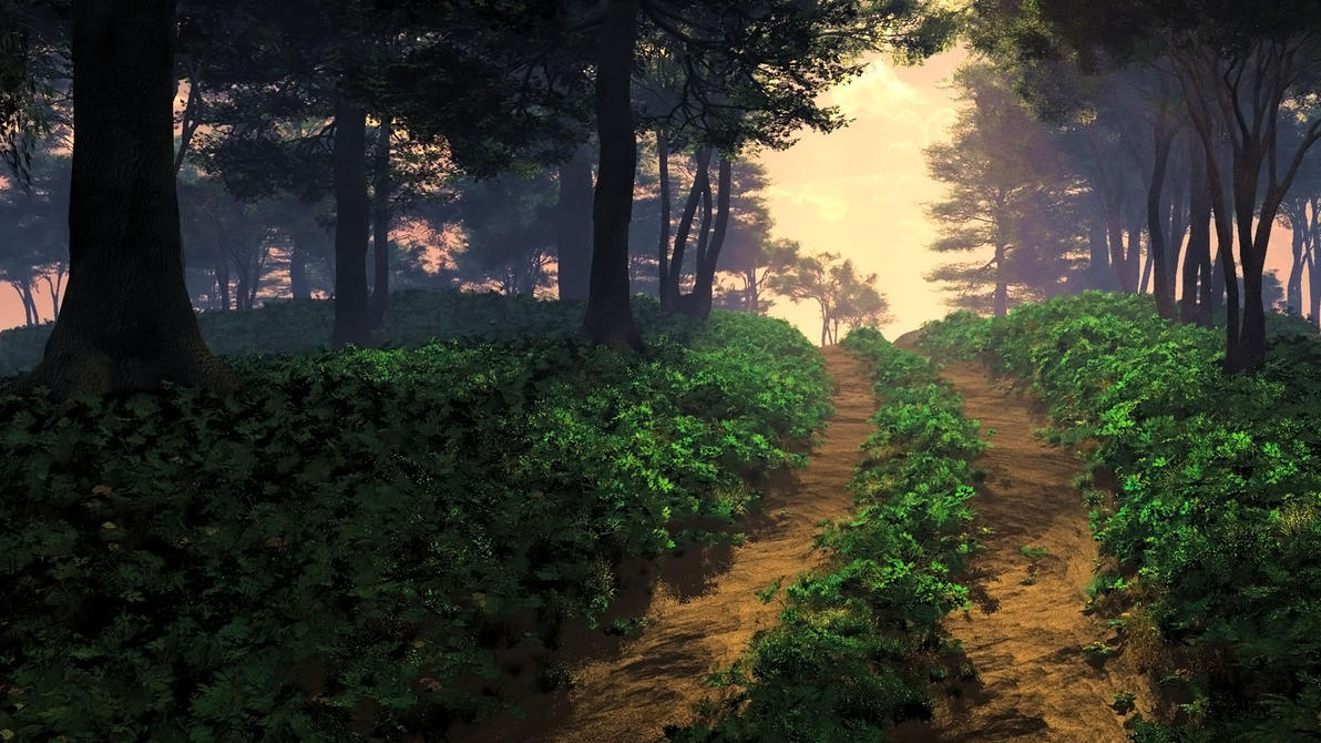 Sunset Road by hoangphamvfx
