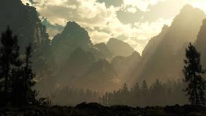 Sunrise at Mountain Pass